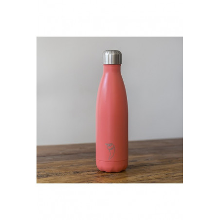 BOTELLA TERMO CHILLY PASTEL CORAL