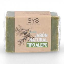 JABON SOLIDO NATURAL 100GR TIPO ALEPO