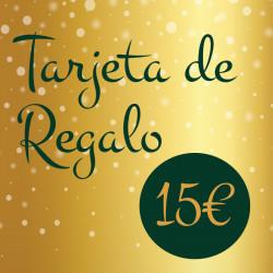 Tarjeta de Regalo 15€
